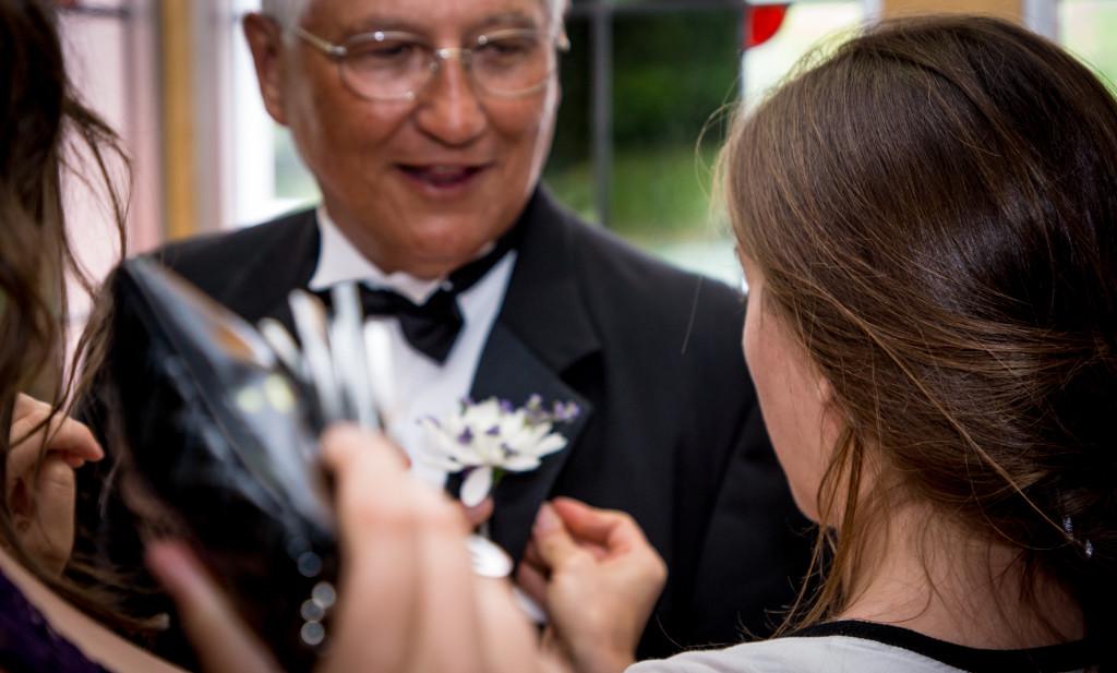 Tom kadri wedding