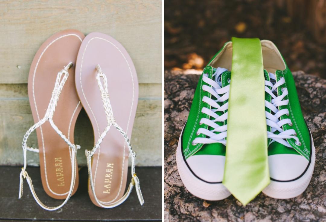 Converse wedding shoes, Colorado