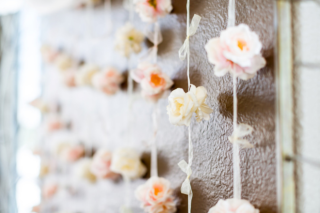 Wedding paper flowers for ceremony